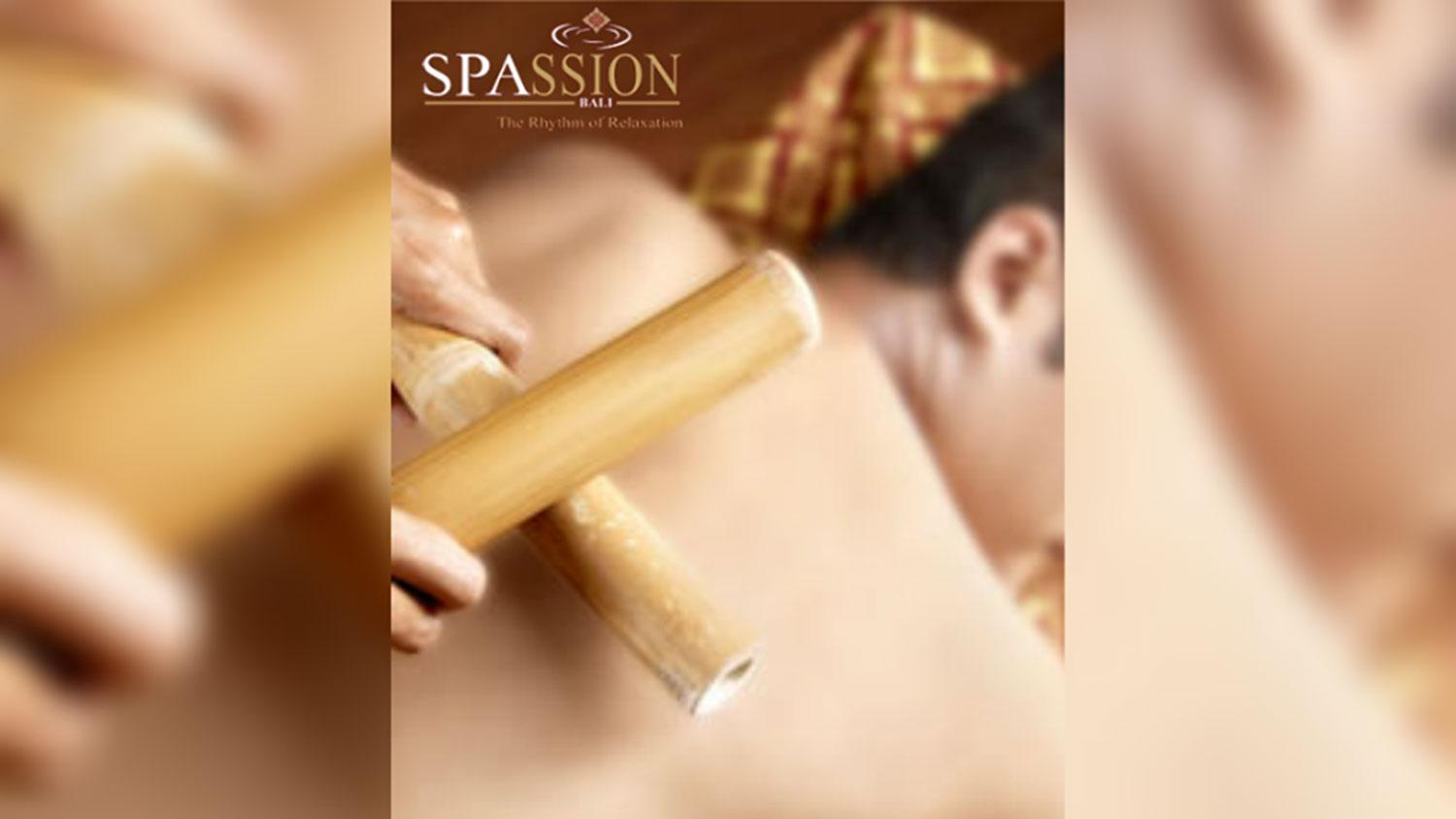 Bamboo Massage in Bali - Spassion